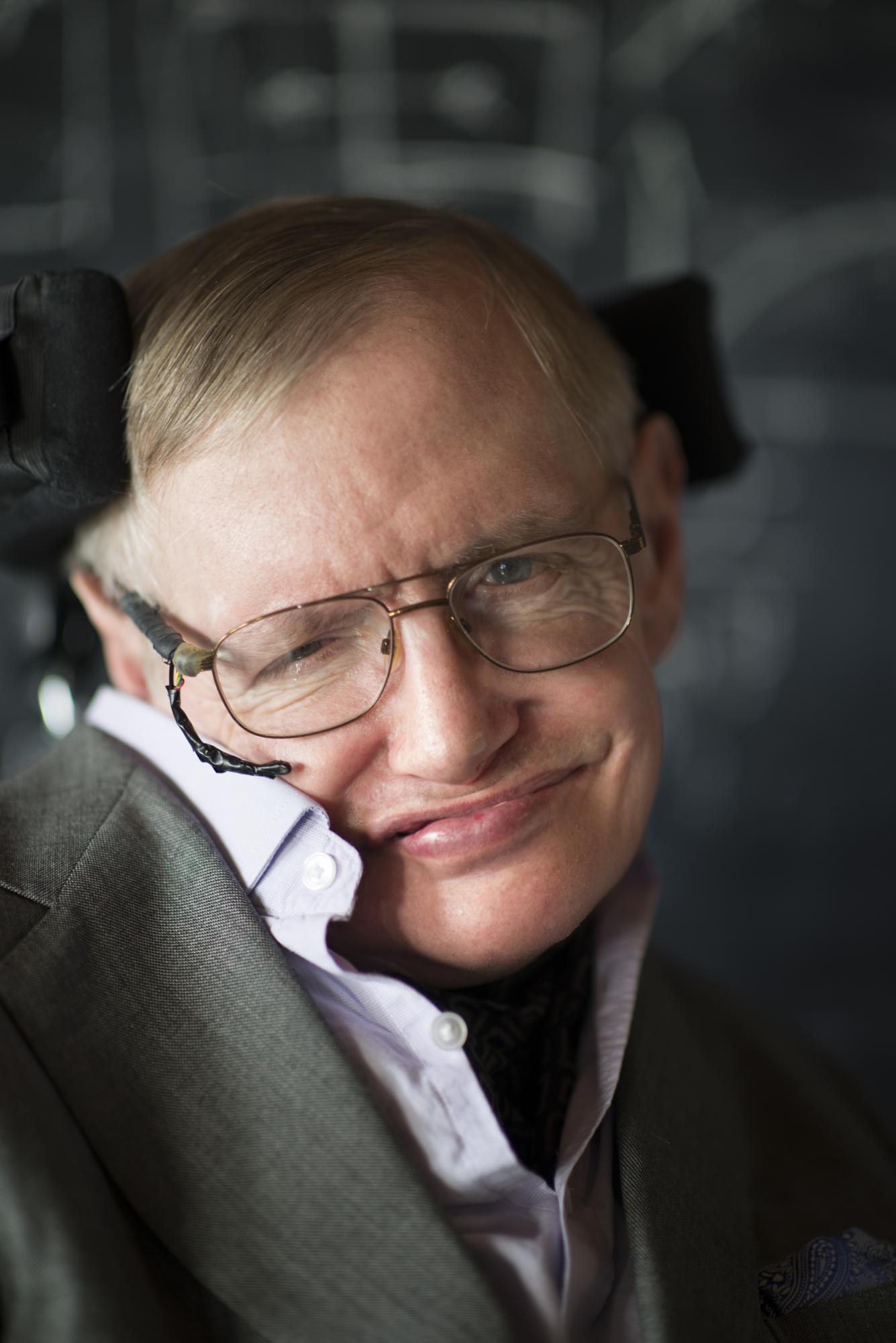 Professor Stephen Hawking | United Agents Stephen Hawking